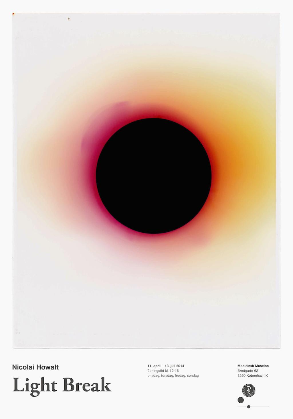 Light Break poster by artist Nicolai Howalt measuring 70 x 100 cm.