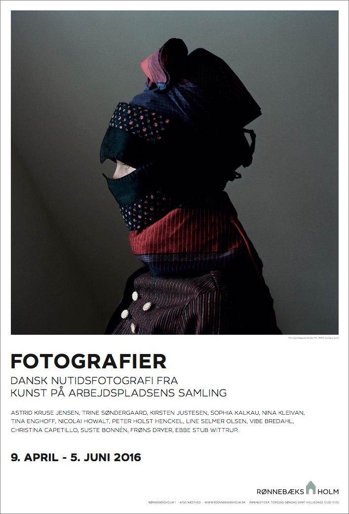 Plakat af Trine Søndergaard med motiv fra hendes Strude serie