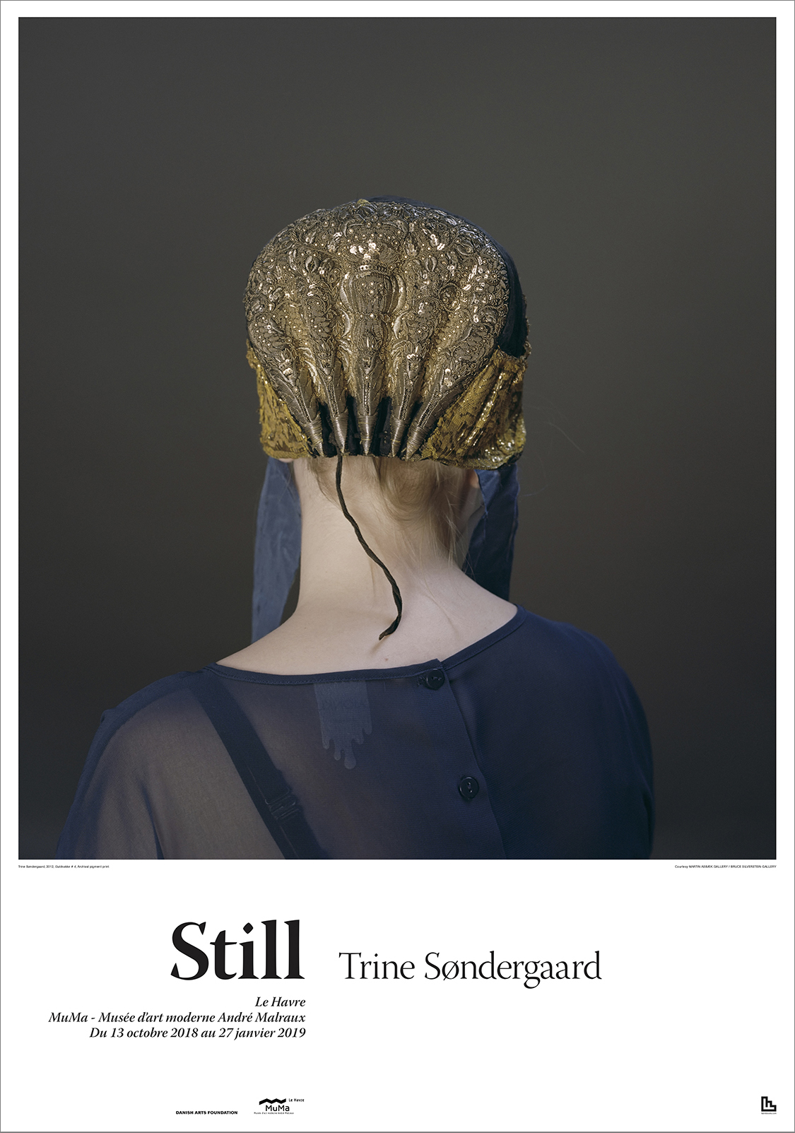 Poster by Trine Søndergaard measuring 70 x 100 cm